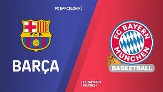 Fc Barcelona - Fc Bayern Munich Highlights | Turkish Airlines Euroleague, Rs Round 28