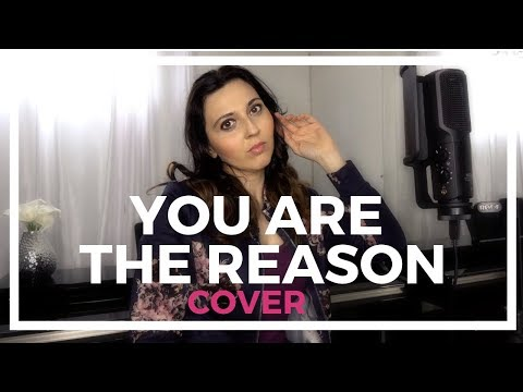 YOU ARE THE REASON -CALUM SCOTT _COVER _Marie-Laurence Dubé_Rode Mcirophone USB