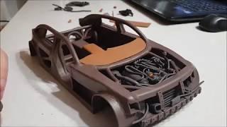 Постройка Модели Автомобиля Из Пластилина 6. Салон (1 Часть)