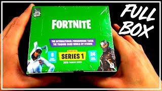 FULL BOX OPENING | Panini Fortnite Serie 1 Trading Cards