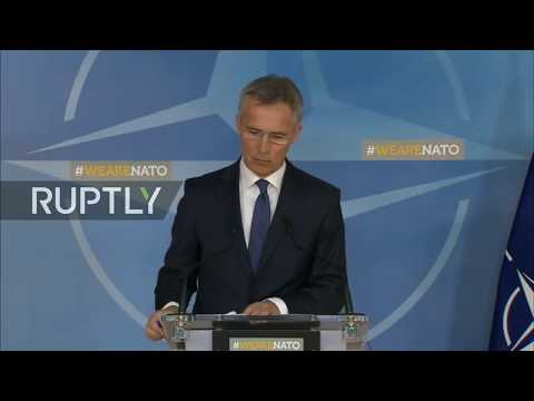 Live: NATO's press point on Syria's latest developments