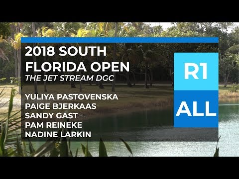 2018 South Florida Open • FPO • R1 • Paige B. • Yuliya P. • Sandy G. • Pam R. • Nadine L.