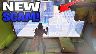 *NEW SCAM* The Edit Through Wall Scam! (Scammer Gets Scammed) Save The World