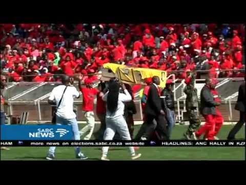 EFF has held its Tshela Thupa rally in Polokwane