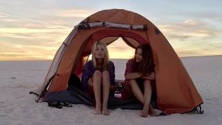 White Sands New Mexico Backcountry Camping