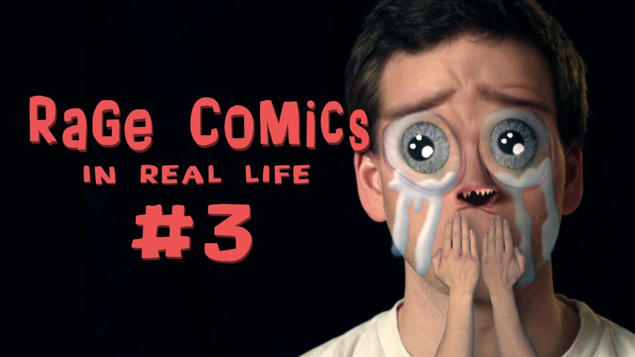 Funny Meme Rage Comics Tumblr : Rage comics in real life youtube