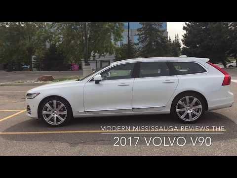 Modern Mississauga Media Reviews the 2017 Volvo V90
