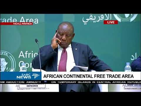 President Ramaphosa meets African Heads of states in Rwanda