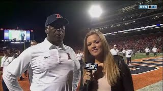Lovie Smith Talks First Half vs. Western Kentucky