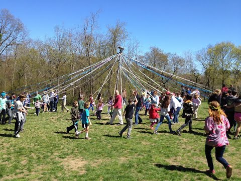 The History of May Day at Sparhawk School