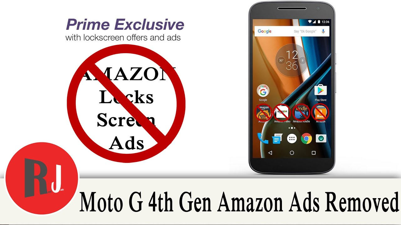 Amazon Ads & Bloat Removed from the Motorola Moto G 4th gen