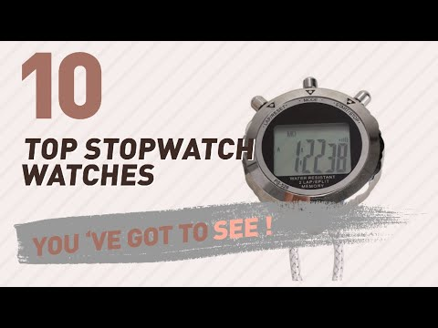 Women Watches With Stopwatch // New & Popular 2017