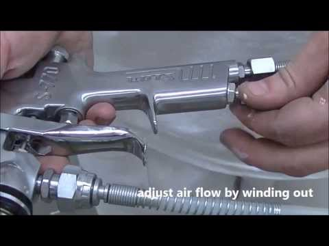 How to Use Conventional Spray-gun Systems