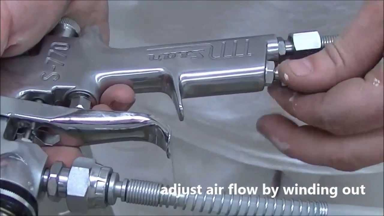 how to use conventional spray gun systems youtubeBody Work Paint Job Gun Diagram #18