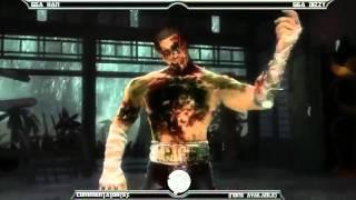 MK9 casuals, GGA HAN (Reptile, Cyrax) vs GGA Dizzy (Cage)