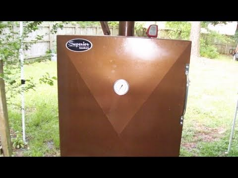 Superior Bbq Smoker Gravity Feed Charcoal Bbq Tricks Youtube