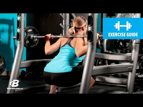 Wide-Stance Barbell Squat | Exercise Guide (F)