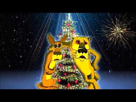 Прикольное поздравление с новым годом 2018 год собаки new year 2018 year of the dog - Смотреть видео без ограничений