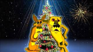 Прикольное поздравление с новым годом 2018 год собаки new year 2018 year of the dog