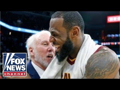 Reporter slammed for asking LeBron James Popovich question