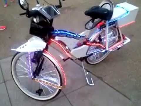 Pimped Out Bicycle