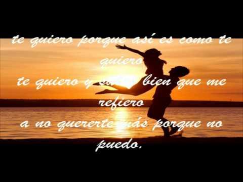 Te Quiero - RICARDO ARJONA - independiente - (letra)