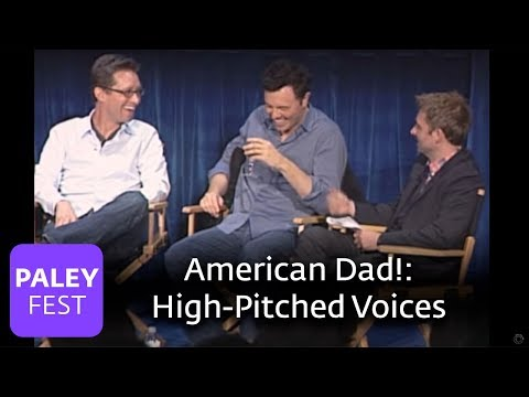 American Dad!  On HighPitched Voices and Hernias