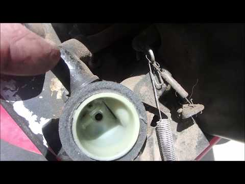 Briggs and Stratton Mower Revs WAY to High