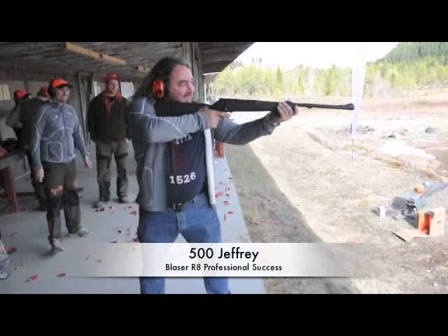 FortHjort - Test av Blaser R8 i 500 Jeffery