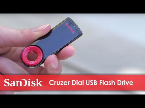 SanDisk Cruzer® Dial USB Flash Drive | Official Product Overview