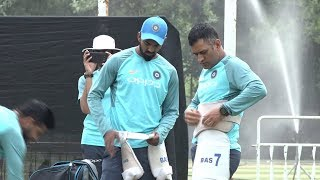 Watch: MS Dhoni, Raina preparing for T20 series against Proteas | India Tour of South Africa