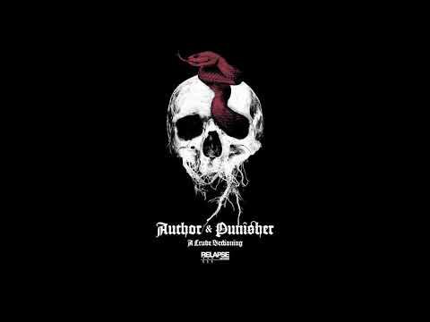 AUTHOR & PUNISHER - A Crude Sectioning