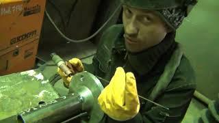 Урок 23. Сварка труб. Видео уроки по аргоновой сварке.