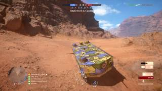 Battlefield™ 1 hunting noob sniper with st chamond tank headshot