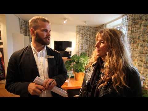 Sweden - Stockholm - Interview Rita COOK Svenskt Tenn