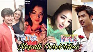 TikTok Nepal | Nepali Celebrities New TikTok Musically Compilation Videos | PART 2
