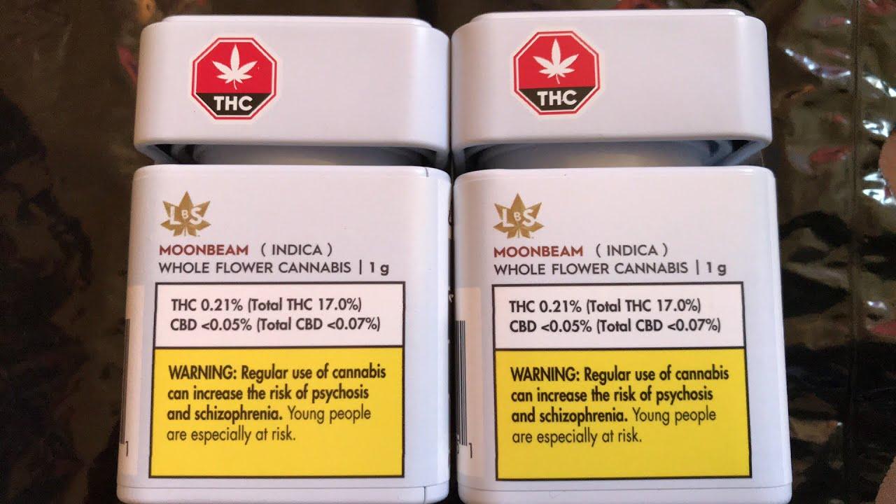 MOONBEAM INDICA (THC 17 0%) (CBD 0 07%) 😎