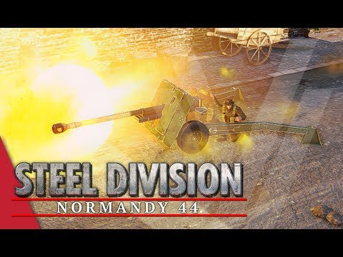 Intensity On High! Steel Division: Normandy 44 Gameplay #63 (Colombelles, 2v2)