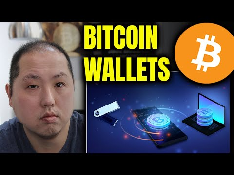 SECURE YOUR BITCOIN AND CRYPTO   DIFFERENT WALLET OPTIONS