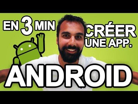 3 min pour cr�er une application Android avec WINDEV Mobile