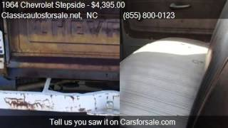 1964 Chevrolet Stepside  for sale in Nationwide, NC 27603 at #VNclassics