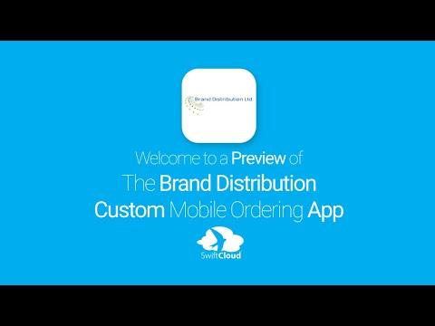 Brand Distribution Ltd - Mobile App Preview BRA780W
