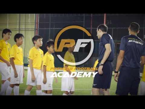 Premier Football Academy - training soccer skills with SKLZ