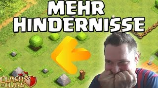 MEHR HINDERNISSE!    CLASH OF CLANS    Let's Play CoC [Deutsch/German HD+]