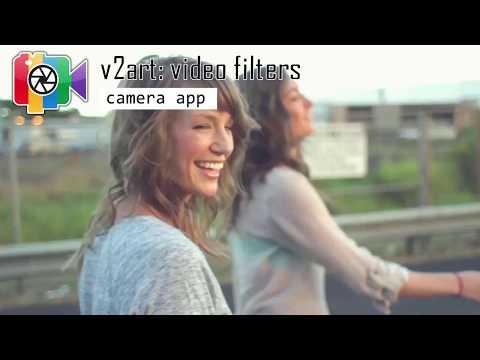 v2art: video filters app presentation