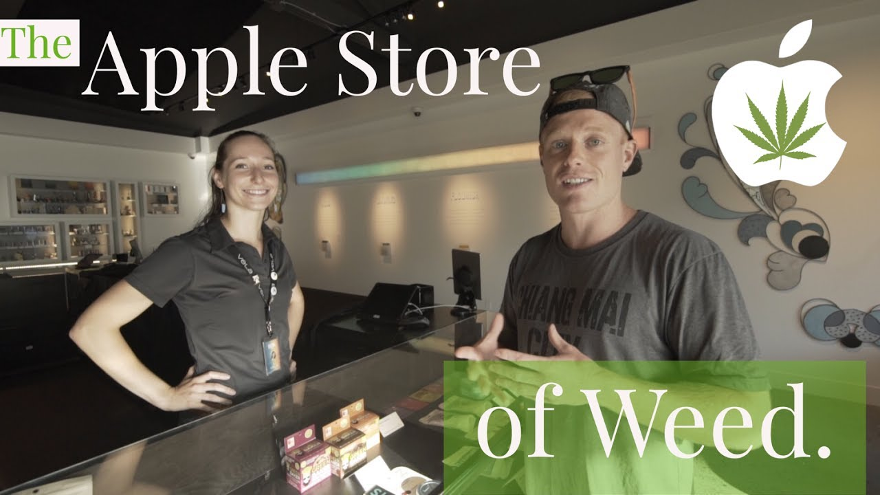 THE APPLE STORE OF WEED