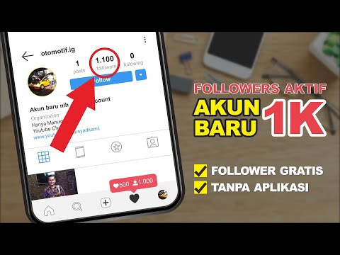 CARA MENAMBAH FOLLOWERS INSTAGRAM INDONESIA AKTIF