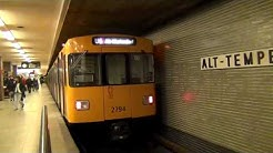 U-Bahn Berlin Bahnhof Alt-Tempelhof U6 [HD]