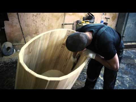 Промышленное производство деревянных купелей для бани