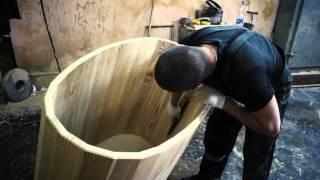 Как сделать баню - бочку своими руками из досок - чертежи - видео